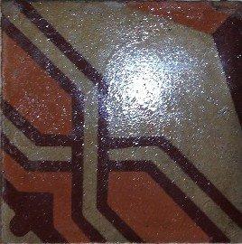 Cementina di recupero maffettone design maioliche