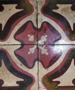 cementina di recupero decorata c 86