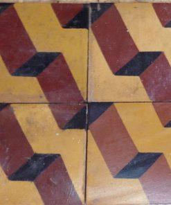 cementina di recupero decorata c 70