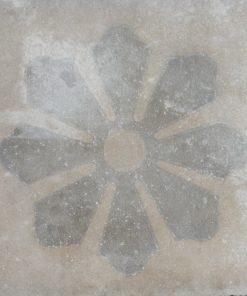 cementina di recupero decorata C 103-25