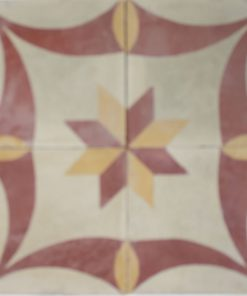 cementina di recupero decorata C 108