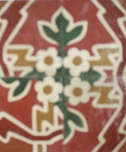 cementina di recupero decorata C 109