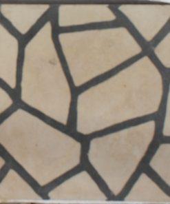 cementina di recupero decorata C 118
