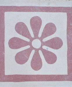 cementina di recupero decorata C 132-25