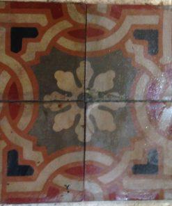 cementina di recupero decorata c 17