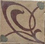 cementina di recupero decorata C 24