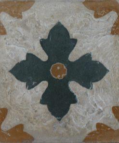 cementina di recupero decorata C 25