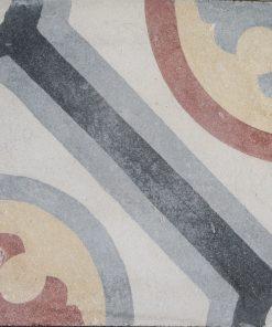 cementina di recupero decorata C 74-25