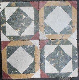 cementina di recupero decorata C 95