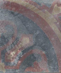 cementina di recupero decorata C 97-25