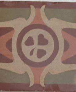 cementina di recupero esagonale decorata cg 1