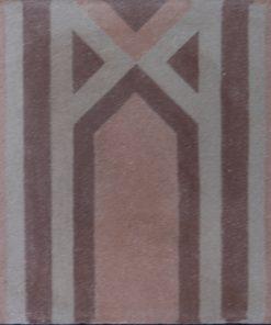 greca cementina di recupero decorata cg 11