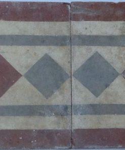 greca cementina di recupero decorata cg 15
