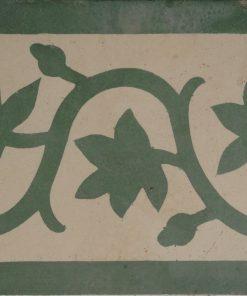 greca cementina di recupero decorata cg 17