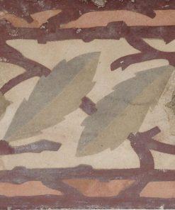 greca cementina di recupero decorata cg 18