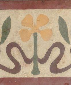 greca cementina di recupero decorata cg 20