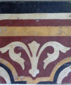 greca cementina di recupero decorata cg 21