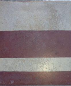 greca cementina di recupero decorata cg 22