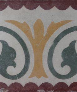 greca cementina di recupero decorata cg 23