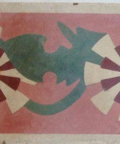 greca cementina di recupero decorata cg 26