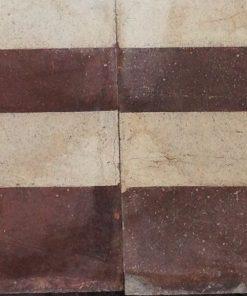 greca cementina di recupero decorata cg 28