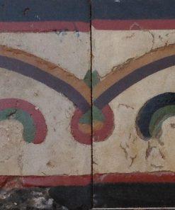 greca cementina di recupero decorata cg 31
