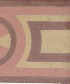 cementina di recupero esagonale decorata cg 4