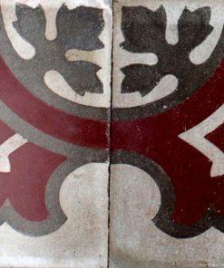 greca cementina di recupero decorata cg 39