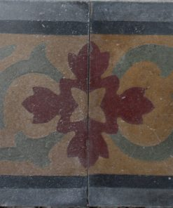 greca cementina di recupero decorata cg 43