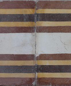 greca cementina di recupero decorata cg 44