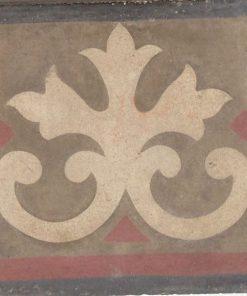 cementina di recupero esagonale decorata cg 7