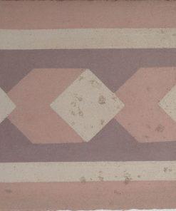 cementina di recupero esagonale decorata cg 8