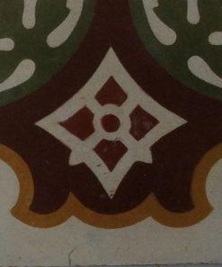 cementina di recupero esagonale decorata cg 94