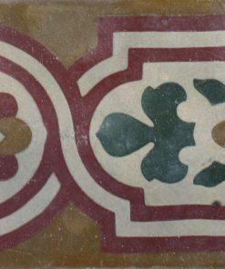 greca cementina di recupero decorata cg 47