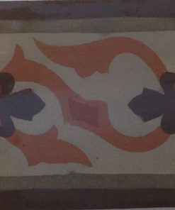 greca cementina di recupero decorata cg 48