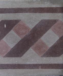 greca cementina di recupero decorata cg 49