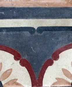 greca cementina di recupero decorata cg 50