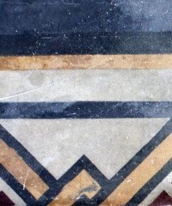 greca cementina di recupero decorata cg 52