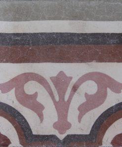 greca cementina di recupero decorata cg 54