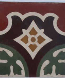 greca cementina di recupero decorata cg 55