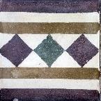 greca cementina di recupero decorata cg 63